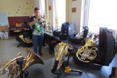 15. 9. 2017 - Výstava hudebních nástrojů vZUŠ Vimperk