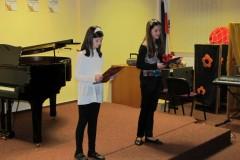 2. Vánoční koncert, 14.12.2011 18.00 hod., sál ZUŠ Vimperk
