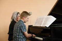 Jarní koncert ve Čkyni, 19. 4. 2018, foto: Bedřich Kubálek