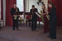 Koncert Saxofonového kvarteta Bohemia  -  6.10.2005