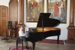 Krajské kolo soutěže ZUŠ - hra na klavír, hra na akordeon, 22.-24.3.2011