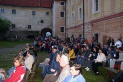 Noční koncert na zámku 30.6.2006 - Vimperk