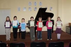 Školní kolo soutěže ZUŠ - hra na klavír, 10.2.2011, Vimperk