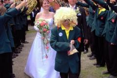 Svatba ředitele ZUŠ 16.9.2006 - Vimperský zámek