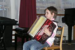třídní koncert akordeonové třídy Aleše Parkana