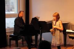 Třídní koncert Magdalény Probstové, 13. 2. 2019