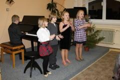 Vánoční koncert 17. 12. 2012 na pobočce ve Čkyni, foto: Bedřich Kubálek