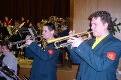 Vánoční koncert dechového orchestru Čkyně - 17. 12. 2005