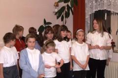 vánoční koncert, sál ZUŠ Čkyně - 18. prosince 2007