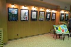 Vernisáž absolventů výtvarného oboru, 5. 5. 2014, Galerie U Šaška Vimperk