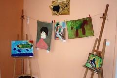 Výstava prací Výtvarného oboru