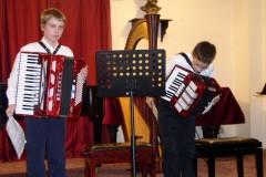 Žákovský koncert - 23.11.2006 , Sál ZUŠ, Vimperk