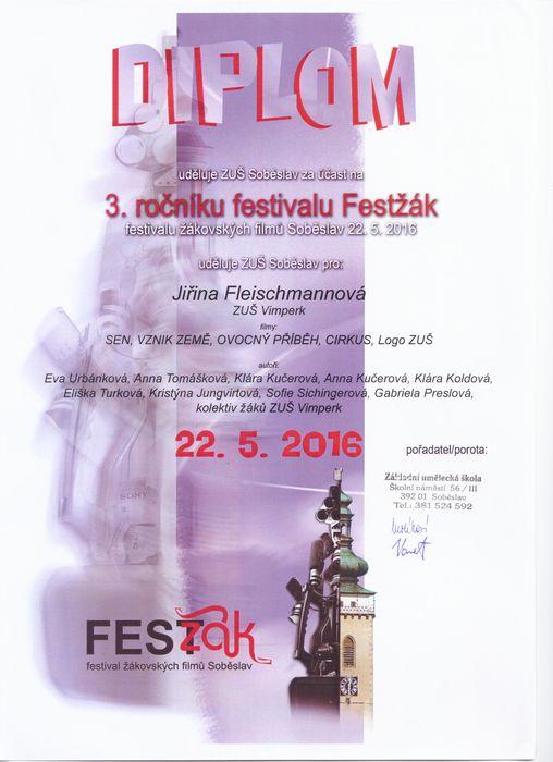 Diplom festival Festžák