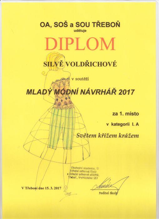 Diplom Silva Voldřichová