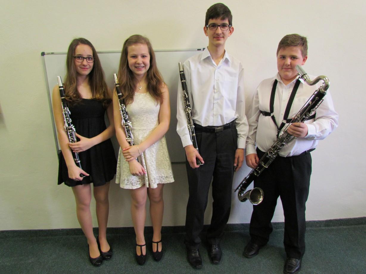 Klarinetové kvarteto