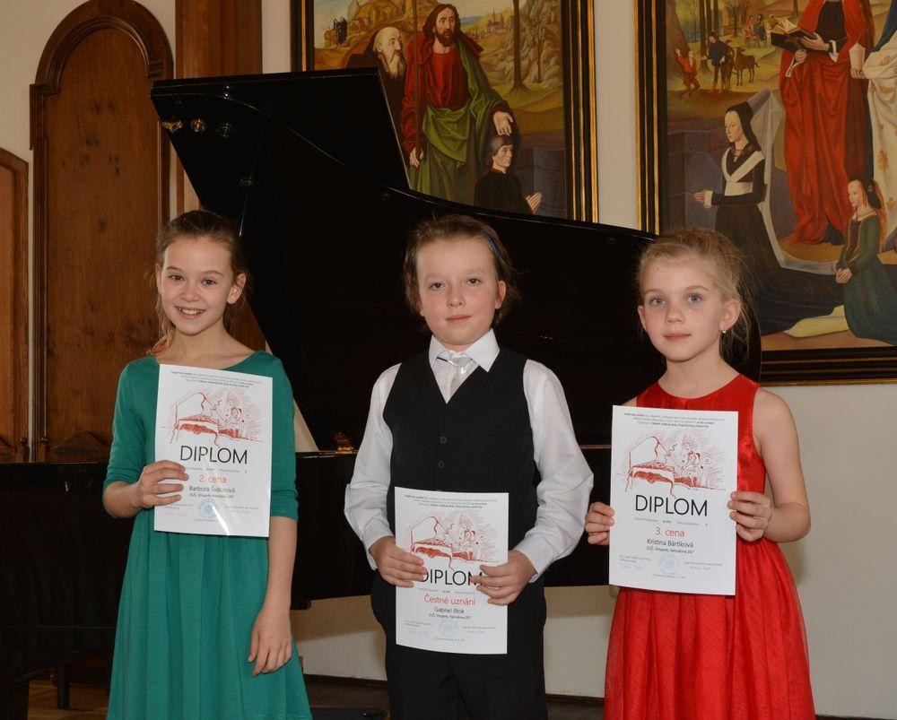 Krajské kolo soutěže ZUŠ - klavír - 21. 3. 2017