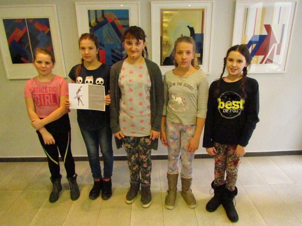Okresní kolo soutěže ZUŠ - taneční obor