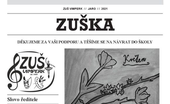 Nové číslo občasníku ZUŠKA